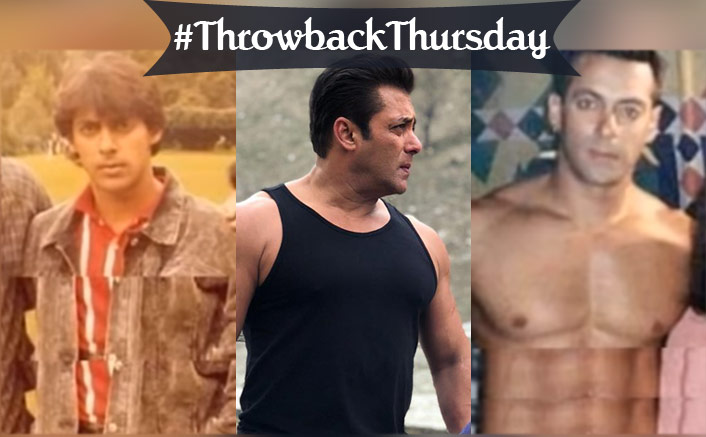 #ThrowbackThursday: These Rare, Unseen Photos Of Salman Khan Are Nothing But A Nostalgic Treasure!