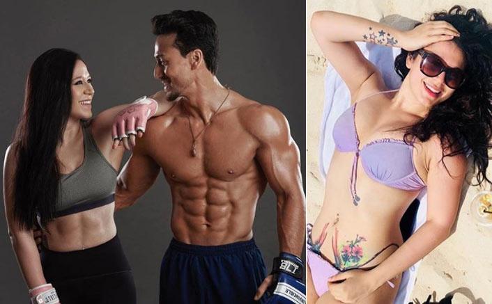 Tiger Shroff's sister Krishna is a tattoo star