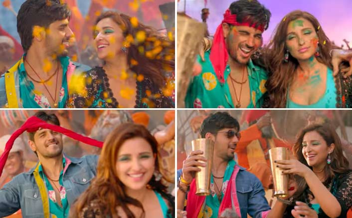 Khadke Glassy From Jabariya Jodi: Sidharth Malhotra & Parineeti Chopra Get You High On Their Colourful Chemistry!