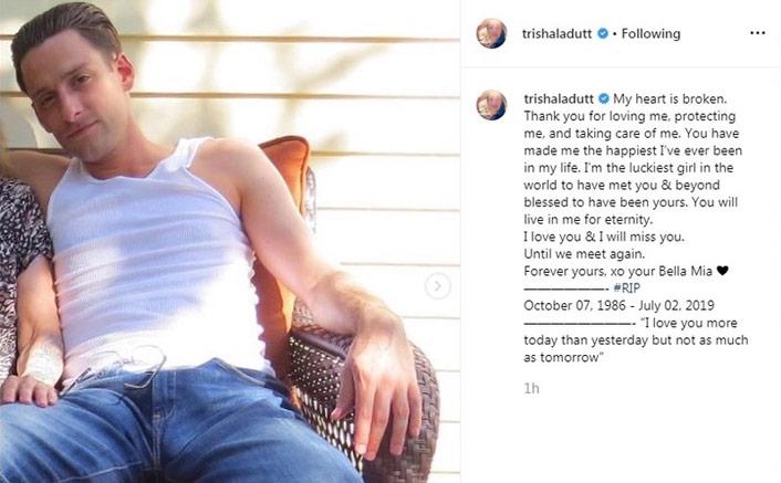 Sanjay Dutt's Daughter Trishala Dutt Posts A Heartfelt Note For Beau Post His Sudden Demise