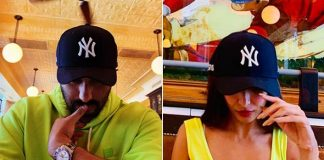 #Twinning: Malaika Arora, Arjun Kapoor paint NYC neon