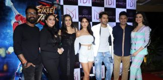 Varun, Shraddha attend wrap-up party of 'Street Dancer 3D'