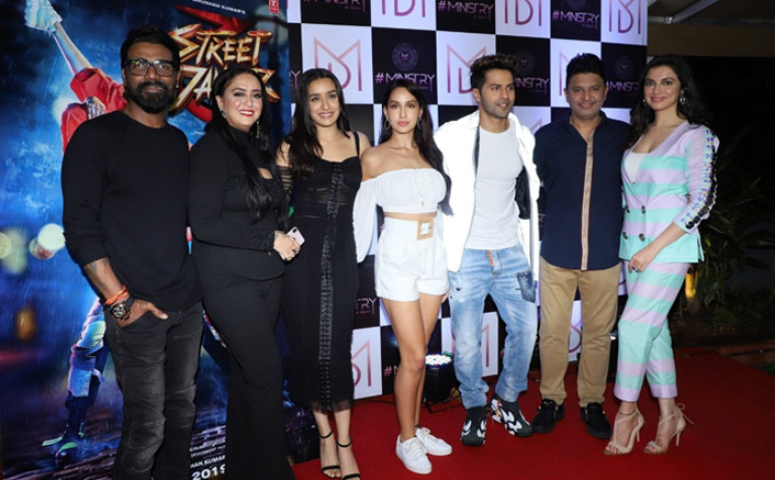 Varun Dhawan, Shraddha Kapoor & Street Dancer 3D Team Party Together As They Wrap Up The Film