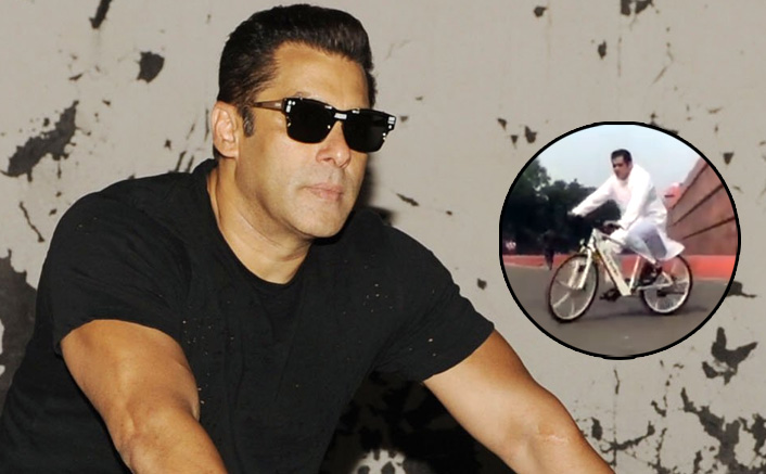 VIDEO: Salman Khan Advertises Being Human E-Cycle In His Own Trademarked Style