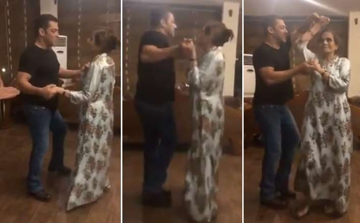 VIDEO: Salman Khan Dances With Mother Salma Khan Is The Best Thing You'll Watch On The Internet!