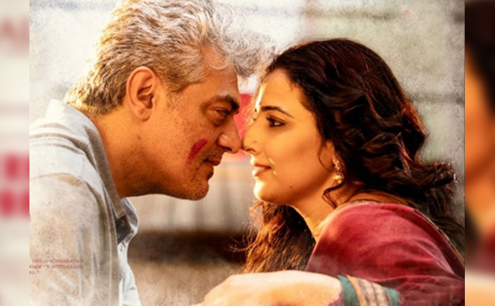 Vidya Balan To PlayThe Wife Of Ajith Kumar In Tamil Remake Of Pink- Nerkonda Paarvai