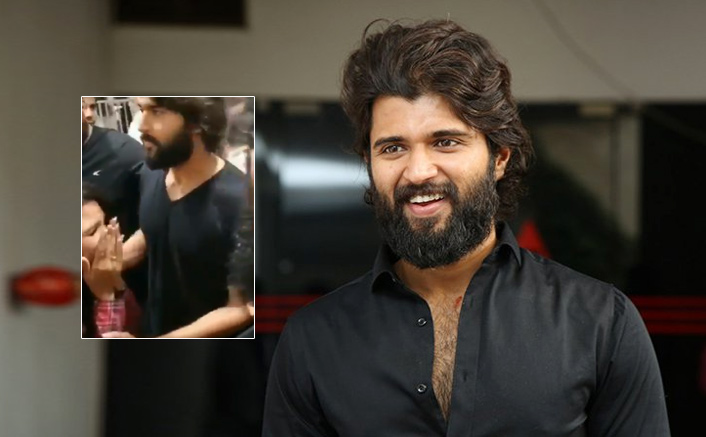 VIRAL VIDEO: Dear Comrade Star Vijay Deverakonda Consoling A Female Fan After She Breaks Down Upon Meeting Him, Is The Cutest Thing You'll See On The Internet Today!