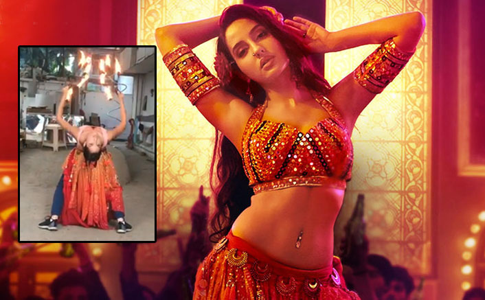 WATCH: Nora Fatehi Training With Fire-Hoops For 'O Saki Saki' Is One video You Shouldn't Miss!