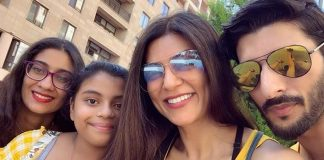 We fit: Sushmita posts 'family selfie' with beau Roman Shawl