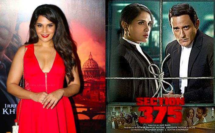 "Richa Chadha On Section 375: ""It Was Supposed To Be Made In A Certain Amount Of Sensitivity & Nuance"""