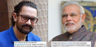 Aamir Khan Praises Narendra Modi For His Initiative To Stop 'Single Use Platic', Prime Minister Responds