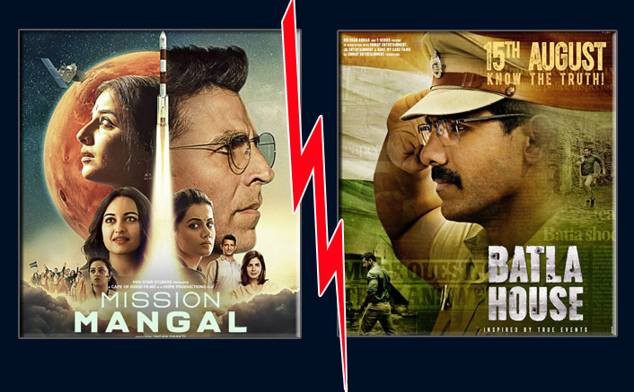 Mission Mangal Vs Batla House Box Office Initial Advance Booking: Is It Akshay Kumar Movie Or John Abraham's To Lead?