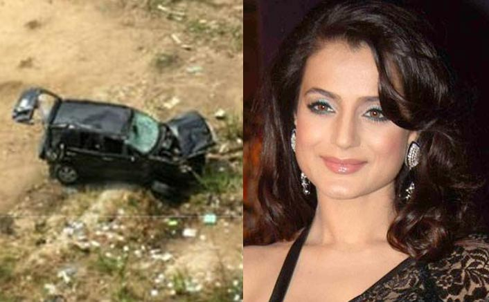 Ameesha Patel Met With A Car Accident? Here's The Truth