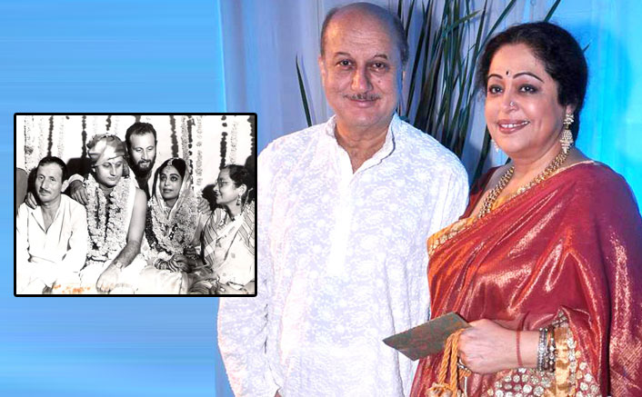 Anupam pens love note to Kirron on wedding anniversary