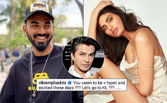 Are Athiya Shetty & KL Rahul Dating? Vikram Phadnis Has Almost Confirmed In This Post