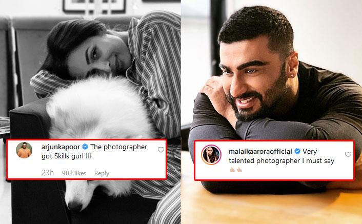 Arjun Kapoor & Malaika Arora Turn Each Other's Photographers Enjoying A Romantic Sunday, Check Out