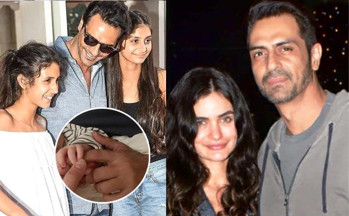 Arjun Rampal's Girlfriend Gabriella Demetriades REVEALS His Daughters Mahikaa & Myra's Reaction For Their Son Arik