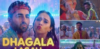 Ayushmann Khurrana and Nusrat Bharucha giving festive vibes, 'Dream Girl' song 'Dhagala Lagali' is finally out