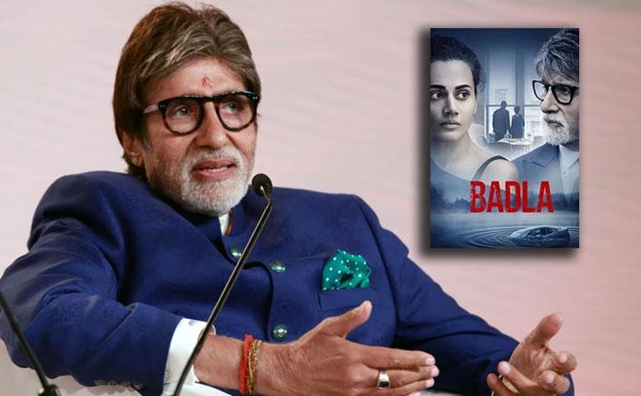 'Badla' a director's film: Amitabh Bachchan