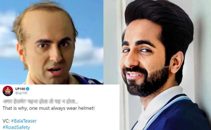 Bala: UP Police Has An Important Yet Hilarious Take On Ayushmann Khurrana's Film's Teaser & It Will Leave You In Splits