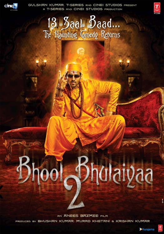 Bhool Bhulaiyaa 2 First Look Out: Kartik Aaryan In His Dapper Avatar Officially Steps Into Akshay Kumar Shoes!
