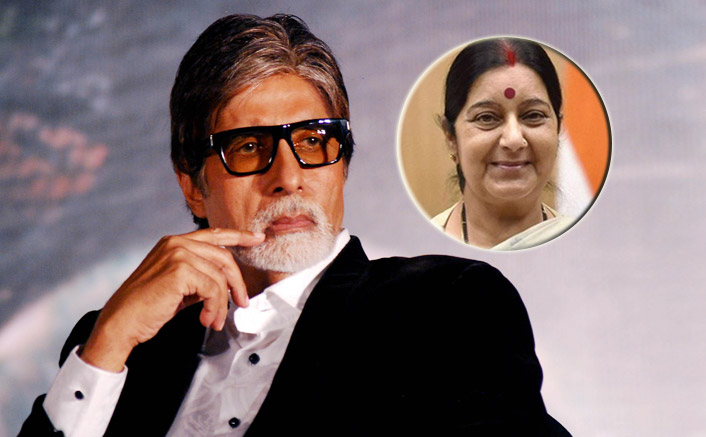 RIP Sushma Swaraj: Amitabh Bachchan Is Disturbed By Former Foreign Minister's Sudden Demise