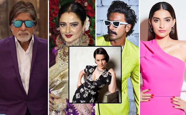 Kangana Ranaut Calls Ranveer Singh, Amitabh Bachchan & These Actors As Most Well Dressed Bollywood Actors!