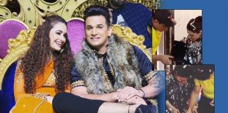 Bigg Boss Fame Prince Narula Surprises Wife Yuvika Chaudhary On Her First Birthday Post Wedding & It's Too Cute!
