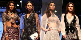 Bollywood divas sizzle on ramp at LFW 2019
