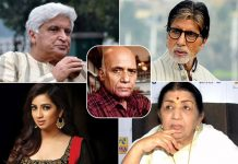 Bollywood Legends Amitabh Bachchan, Lata Mangeshkar, Javed Akhtar, Shreya Ghoshal, And Others Pay Their Tribute To Late Musical Legend Khayyam Saab