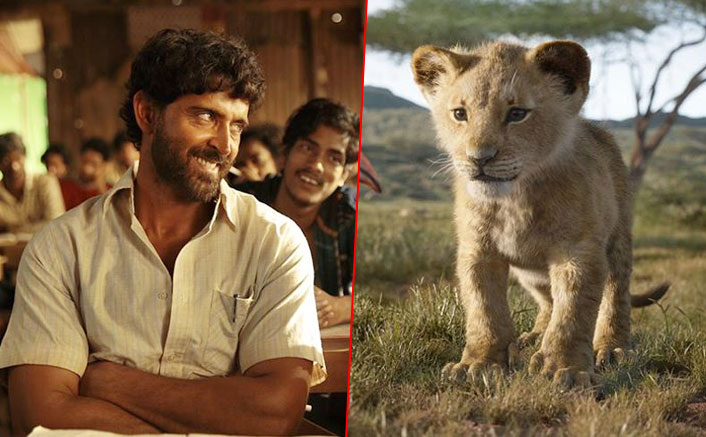 Box Office - Super 30 and The Lion King double up on Saturday, set for another good weekend