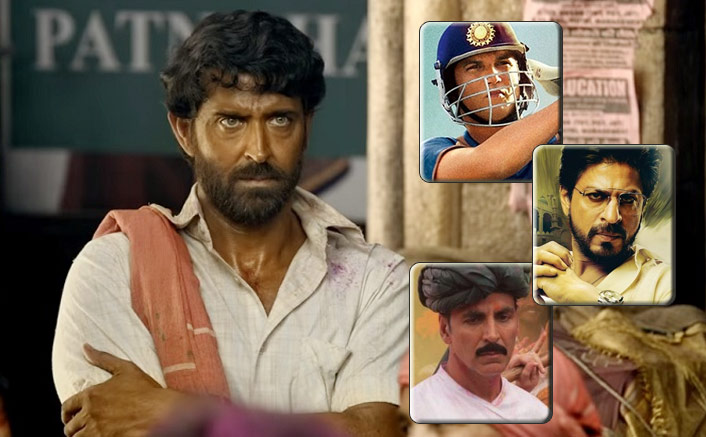 Box Office - Super 30 crosses Raees, Toilet - Ek Prem Katha, M.S. Dhoni - The Untold Story lifetime