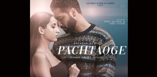 HOT! Vicky Kaushal & Nora Fatehi Bomb-Up The Screen With Their Sensual First Look From Pachtaoge