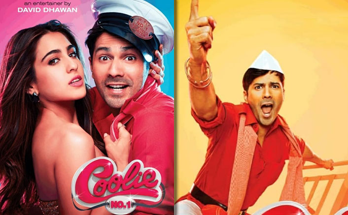 Coolie No. 1 New Posters Ft. Varun Dhawan & Sara Ali Khan Are Out & We Promise You Wouldn't Miss Govinda & Karisma Kapoor After Seeing The Poster!