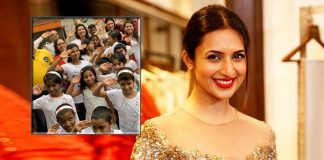 Divyanka celebrates I-Day at orphanage