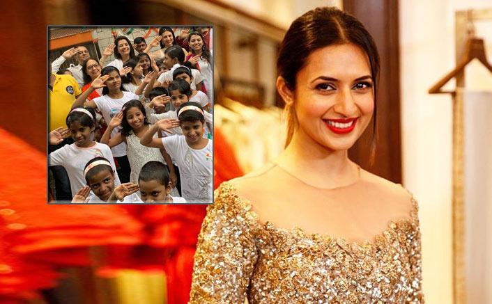 'Ishi Maa' Divyanka Tripathi Celebrates Independence Day With Kids At Orphanage