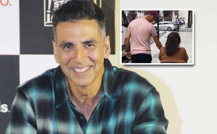 VIDEO: Akshay Kumar Spends Some Quality Time With Mother In London! Isn't He The Perfect Son?