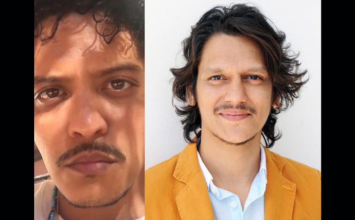 Fans on social media find uncanny resemblance of Vijay Varma with Bruno Mars!