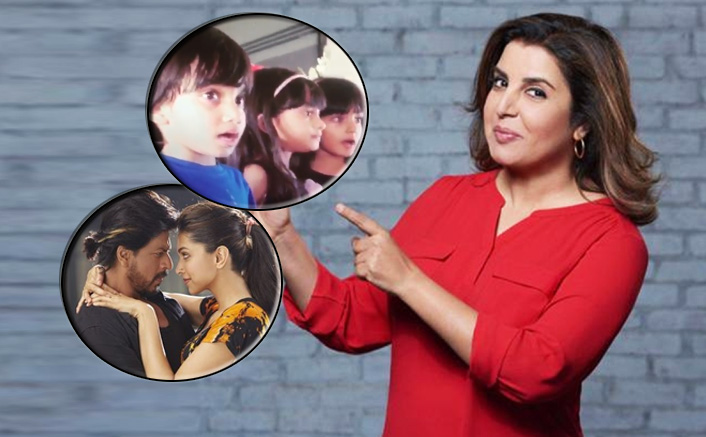 Farah Khan Shares Not Worst But The Cutest Lip-Syncing Video Of Her Kids On Shah Rukh Khan's Song Manwa Lage