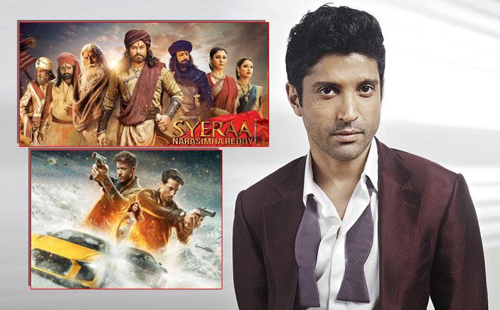 Farhan Akhtar Reacts To Sye Raa Narasimha Reddy Clashing With Hrithik Roshan & Tiger Shroff's War