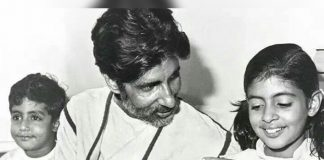 #FlashbackFriday: 37 Year Old Picture Of Amitabh Bachcan, Abhishek Bachchan, Shweta Bachchan & It's Beautiful Story Is Unmissable