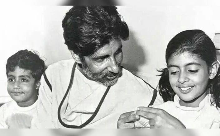 #FlashbackFriday: 37 Year Old Picture Of Amitabh Bachchan, Abhishek Bachchan, Shweta Bachchan Has A Beautiful Story To Tell