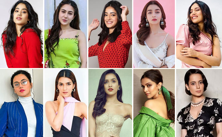 From Janhvi Kapoor To Bhumi Pednekar – The Rising, Existing And Reigning Female Stars Of Bollywood!
