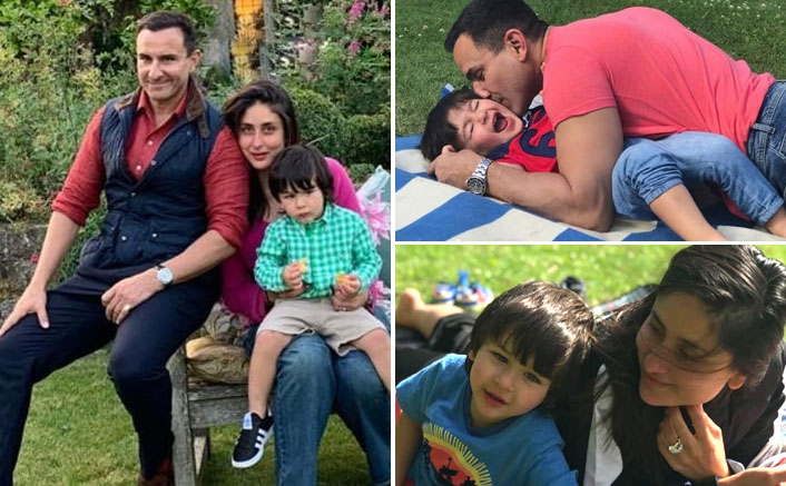 Happy Birthday Saif Ali Khan: Daddy Cool With Taimur Ali Khan & Kareena Kapoor Khan Make A Purrrfect Family Picture