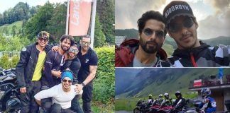 Happy Vibes: Biker Boys Shahid Kapoor, Kunal Khemmu, Ishaan On Bike Trip In Europe