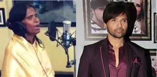 Ranu Mondal records new song with Himesh Reshammiya