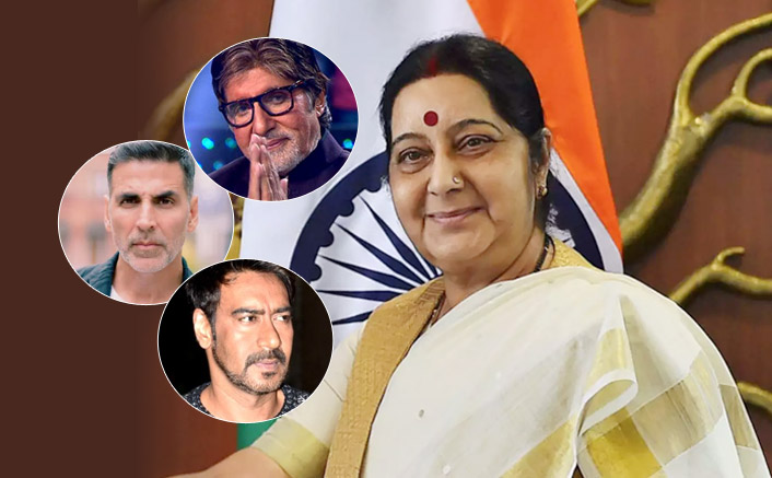 LIVE Updates: From Amitabh Bachchan To Sunny Deol - Celebs React To Sushma Swaraj's Demise
