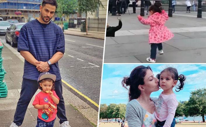 Soha Ali Khan & Kunal Kemmu's Daughter Inaaya Kemmu Goes 'Balle Balle' At Trafalgar Square