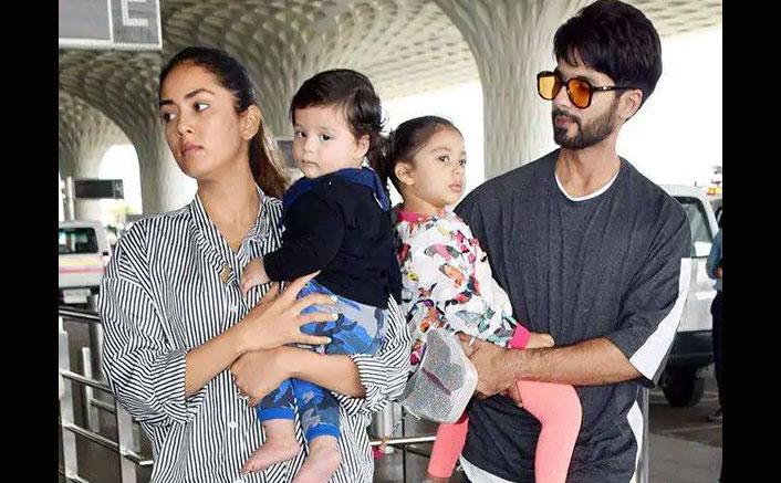 It's Family Time For Kabir Singh Star Shahid Kapoor