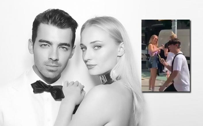Joe Jonas fanboys over wife Sophie Turner in new video